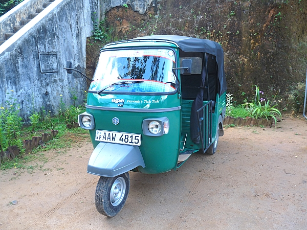 Extra Cover's first tuk-tuk
