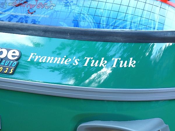 Extra Cover's tuk-tuk